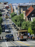 Street Scene, Hyde Street, San Francisco, California, USA Photographic Print by Fraser Hall