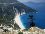 Myrtos Bay and Beach, Kefalonia, Ionian Islands, Greek Islands, Greece Photographic Print by Michael Short
