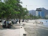 Beachfront, Santa Marta, Magdalana District, Colombia, South America Photographic Print by Jane O'callaghan