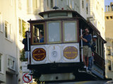 Cable Car on Hyde Street, San Francisco, California, USA Photographic Print by Fraser Hall