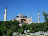 St. Sophia Mosque, Unesco World Heritage Site, Istanbul, Turkey Photographic Print by Simon Harris