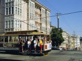 Cable Car on Nob Hill, San Francisco, California, USA Photographic Print by Fraser Hall