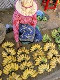 Chong Kneas Village, Tonle Sap Lake, Siem Reap, Cambodia, Indochina, Southeast Asia Photographic Print by Bruno Morandi