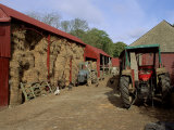 A Farm, Near Avoca, County Wicklow, Leinster, Eire (Republic of Ireland) Photographic Print by Michael Short