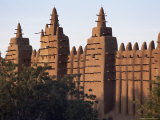 Largest Earth Mosque in the World, Grande Mosquee, Unesco World Heritage Site, Djenne, Mali Photographic Print by Bruno Morandi