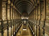 Interior of the Library, Trinity College, Dublin, Eire (Republic of Ireland) Photographic Print by Michael Short