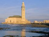 Hassan II Mosque, Casablanca, Morocco, North Africa, Africa Photographic Print by Bruno Morandi