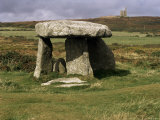 Lanyon Quoit, Cornwall, England, United Kingdom Photographic Print by David Hunter