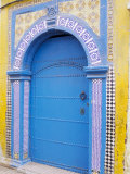 Door in the Medina, Essaouira, Morocco, North Africa, Africa Photographic Print by Bruno Morandi