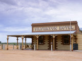 Exterior of Silverton Hotel, New South Wales, Australia Photographic Print by Mark Mawson