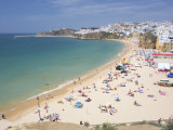 Albufeira Beach and Village, Algarve, Portugal Photographic Print by Marco Simoni