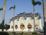 Chiang Kaishek Memorial Park, Taipei City, Taiwan Photographic Print by Christian Kober