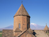 Khorvirap Monastery, Mount Ararat Region, Armenia, Central Asia Photographic Print by Bruno Morandi