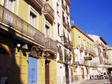 Old Painted Houses, Alicante, Costa Blanca, Spain Photographic Print by Marco Simoni