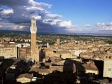 View Over City, Siena, Tuscany, Italy Photographic Print by Bruno Morandi