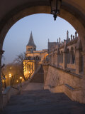 Fishermans Bastion, Castle Hill Area, Budapest, Hungary Photographic Print by Christian Kober