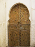Door in the Medina, Fes El Bali, Fez, Morocco, North Africa, Africa Photographic Print by Bruno Morandi