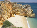 Batata Beach, Lagos, Western Algarve, Algarve, Portugal Photographie par Marco Simoni