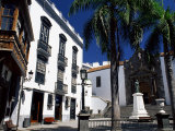 San Salvador Church and Typical Old Buildings, La Palma, Spain Photographic Print by Marco Simoni