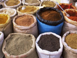 Spices, Tinerhir Souk, Ouarzazate Region, Morocco, North Africa, Africa Photographic Print by Bruno Morandi