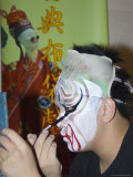 Make-Up Preparations, Taipei Eye, Chinese Theatre, Cultural Dance Performance, Taipei City, Taiwan Photographic Print by Christian Kober