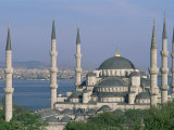 The Blue Mosque (Sultan Ahmet Mosque), Istanbul, Marmara Province, Turkey Photographic Print by Bruno Morandi