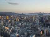 Panoramic City View, Hiroshima City, Western Japan Photographic Print by Christian Kober