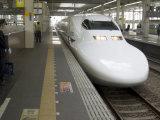 Shinkansen Bullet Train, Tokyo, Japan Photographic Print by Christian Kober
