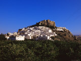 Old Town Centre and Muslim Castle, Salobrena, Andalucia, Spain Photographic Print by Marco Simoni