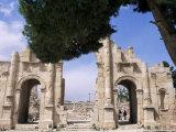 Archaeological Site of Jerash, Jordan, Middle East Photographic Print by Bruno Morandi