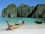 Ao Maya, Phi Phi Le, Ko Phi Phi, Krabi Province, Thailand, Southeast Asia Photographic Print by Bruno Morandi