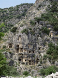 Rock Carved Lycian Tombs, Myra, Anatolia, Turkey, Eurasia Photographic Print by Marco Simoni