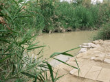 Location on the Jordan River Where Jesus was Baptised, Bethany, Jordan, Middle East Photographic Print by Bruno Morandi