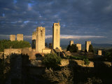San Gimignano, Unesco World Heritage Site, Tuscany, Italy Photographic Print by Bruno Morandi