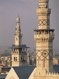 Minarets of Omayade Mosque, Damascus, Syria, Middle East Photographic Print by Bruno Morandi