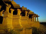 Bada Bagh Chhatris, Jaisalmer, Rajasthan State, India Photographic Print by Marco Simoni