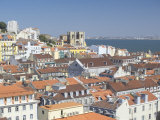 View of Lisbon Old Centre, Lisbon, Portugal Photographic Print by Marco Simoni