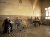 Tea House in the Old City, Damascus, Syria, Middle East Photographic Print by Bruno Morandi