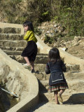Cat Cat Village Hiking Trail, Sapa, Northern Vietnam, Southeast Asia Photographic Print by Christian Kober
