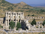 Library of Celsus, Ephesus, Egee Region, Anatolia, Turkey Photographic Print by Bruno Morandi