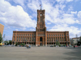 Rotes Rathaus (Red Town Hall), Berlin, Germany Photographic Print by Bruno Morandi