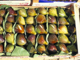 A Box of Figs for Sale in a Market, Tuscany, Italy Photographic Print by Bruno Morandi