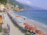 Fegina Beach, Cinque Terre, Liguria, Italy Photographic Print by Bruno Morandi