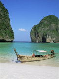 Ao Maya, Phi Phi Le, Ko Phi Phi, Krabi Province, Thailand, Southeast Asia Photographic Print by Bruno Morandi