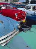 Old American Classic Cars, Transport, La Habana, Cuba Photographie par Bruno Morandi