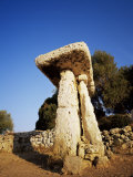 Taula of Torre Trencada, Menorca (Minorca), Balearic Islands, Spain Photographic Print by Marco Simoni