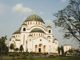 St. Sava Orthodox Church, Dating from 1935, Biggest Orthodox Church in the World, Belgrade, Serbia Photographic Print by Christian Kober