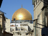 Dome of the Rock, Haram Ash-Sharif (Temple Mount), Old Walled City, Jerusalem, Israel, Middle East Photographic Print by Christian Kober