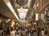 Crowded Shopping Arcade, Kobe City, Kansai, Honshu Island, Japan Photographic Print by Christian Kober