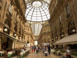 Galleria Vittorio Emanuele, Milan, Lombardy, Italy Photographic Print by Christian Kober